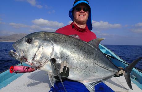 Giant trevally oman kalastus