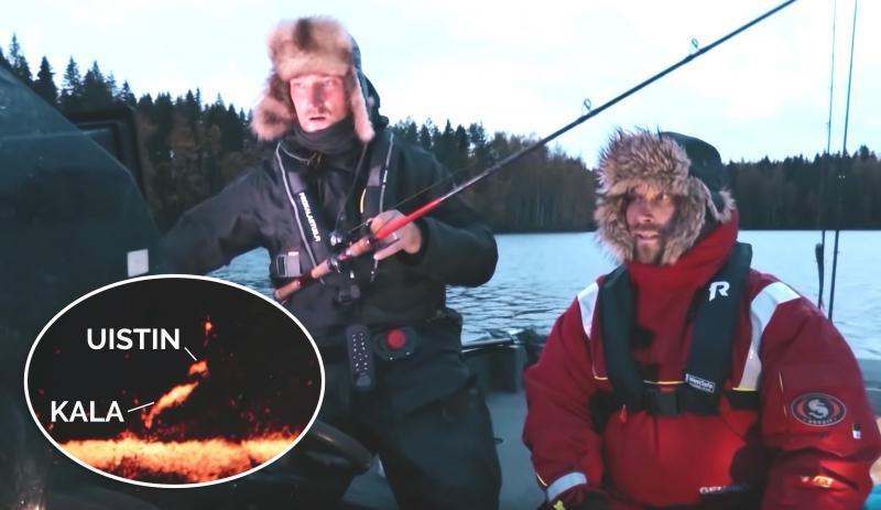 LiveScope kaikuluotain kalastus