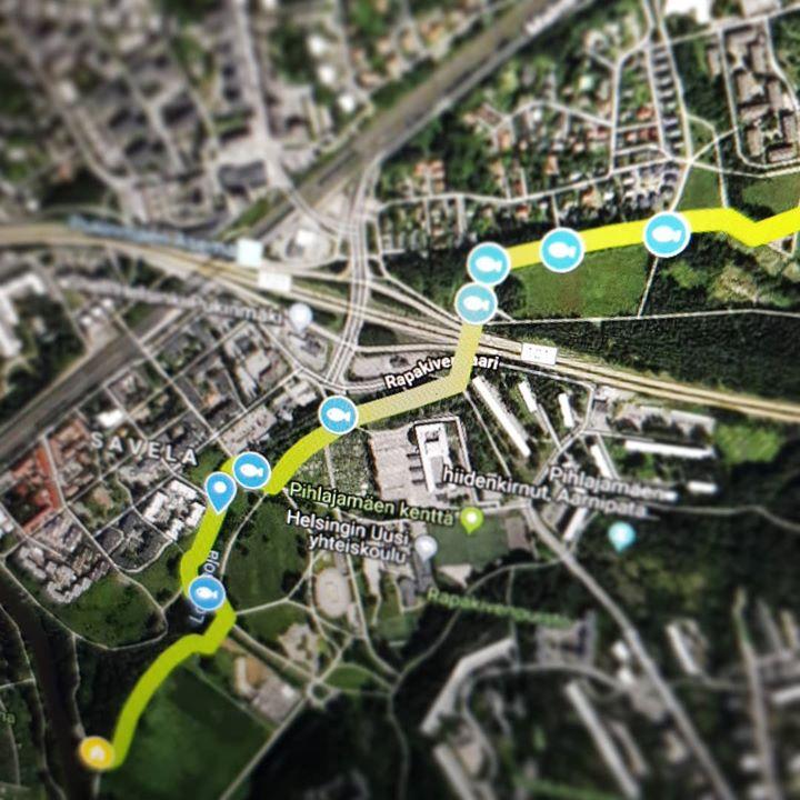 Nyt On Tulevalla Longinojan Luontopolulla Oma Google Maps Kartta