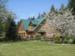 Cowichan River Wilderness Lodge, oli erittäin viihtyisä majoituspaikka. Kuva Kenzie Kuthbertin arkisto.