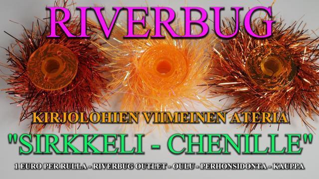 Sirkkeli Chenille by RiverBug putkiperhot. #chenille #putkiperhot #tiurauistin #riverbug #perhonsidonta #oulu