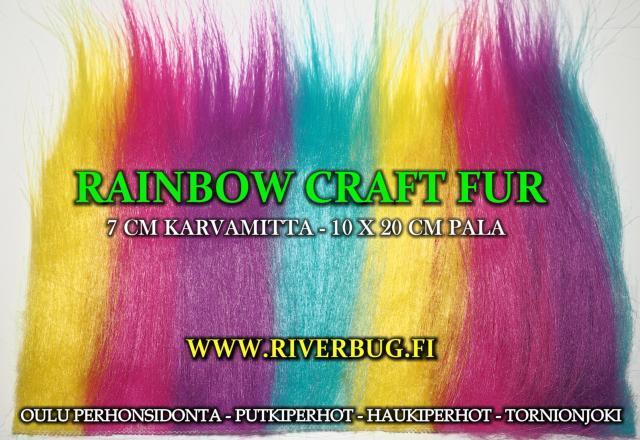Craft Fur keinokarvat - RiverBug Outlet. #craftfur #keinokarvat #riverbug #putkiperhot #perhonsidonta #ouluperhonsidonta #oulu #haukiperhot #tornionjoki
