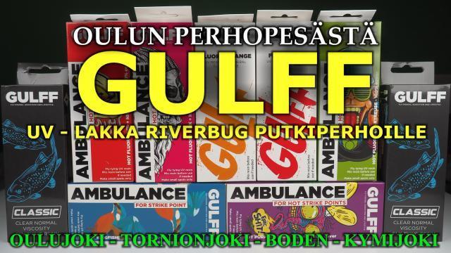 Gulff UV Lakka / UV Liima Oulussa RiverBug putkiperhojen viimeistelyyn. #oulu #perhopesä #kalastus #kalastusvälineetoulu #perhonsidonta #riverbug #gulff #gulffuv #uvresin #oulujoki #tornionjoki #putkiperhot #bugiperhot