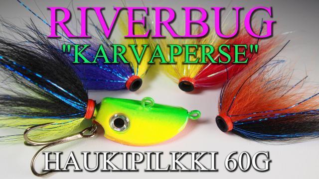 Karvaperse Haukipilkki by RiverBug - Putkiperhot. #haukipilkki #hauki #pilkki #riverbug #karvaperse
