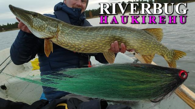 Haukirehu ja Haukiperhot by RiverBug perhonsidonta #haukirehu #riverbug #perhonsidonta #haukiperhot