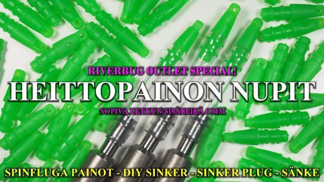 Perhonsidonta - Spinfluga - Putkiperhorunko arvonta. #spinfluga #riverbug #putkiperhot #merikoski #heittopainot #DIY #letkupainot #rautapainot #rautapuntti  #teeneite
