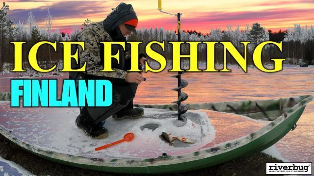 Ice Fishing Finland - Oulu Pilkintä River Ranger Youtube kanavalla! #pilkintä #icefishingfinland #finland #winter #venepilkki #lapland #oulu