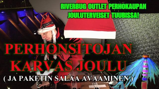 Hyvät Joulut Perhopesästä! #joulu #joulutervehdys #hyvääjoulua #oulu #perhokauppa #riverbug #joulupukki #perhopesä #riverranger
