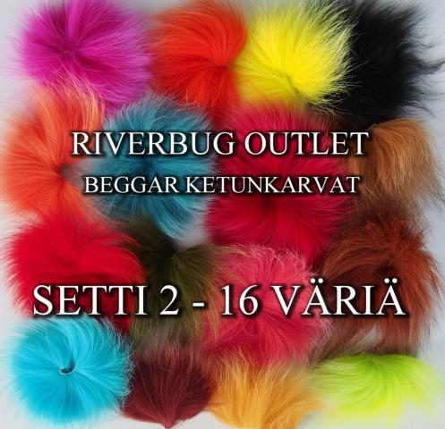 Ketunkarvat by Beggar / RiverBug - Outlet Setti 2