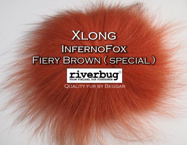 Ketunkarvat InfernoFox - RiverBug - Beggar - fiery brown