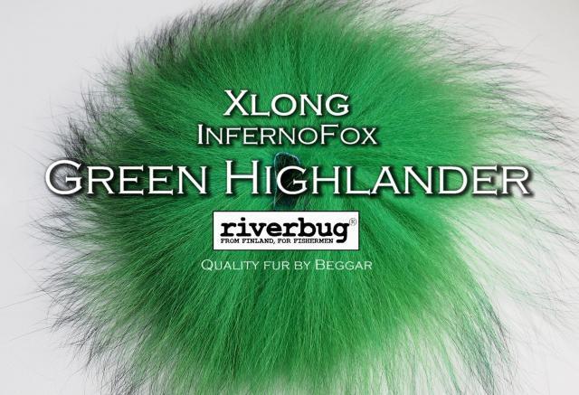 Ketunkarvat InfernoFox - RiverBug - Beggar - green highlander