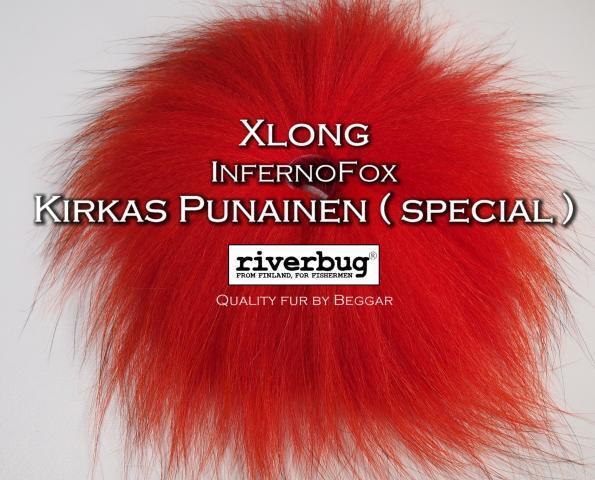 Ketunkarvat InfernoFox - RiverBug - Beggar - punainen