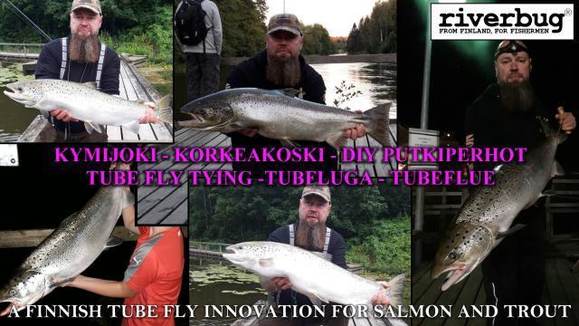 Jannen Kymijoen lohikimaraa kaudelta 2020. #korkeakoski #kotka #kymijoki #putkiperhot #riverbug #perhondisonta #diy #tubfluga #tubeflue #lohiperhot #oulu #ouluperhonsidonta