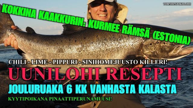 Wanhasta Kalasta ruokaa - Uunilohi Resepti by Kurmee Rämsä (estonia). #uunilohi #ruoka #resepti #sinihomejuusto #lohiruoka #lähiruoka #tornionjoki #matkakoski #kurmeerämsä
