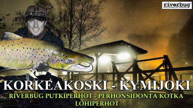 Korkeakoski Kymijoki - Lohi - Salmon Fishing Kotka. #kymijoki #korkeakoski #kotka #riverbug #putkiperhot #kotkaperhonsidonta #kojamo #viistobugit #juuso #puolijuuso #kettuperhot
