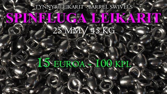 Leikarit Spinflugaan - 45 kg vahvuus! #putkiperhot #riverbug #leikarit #bucktail #oulu #spinfluga #merikoski