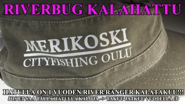 Kalahattu - Merikoski CityFishing Oulu. #perhokauppa #putkiperhot #riverbug #madeinfinland #tornionjoki #matkakoski #merikoski #oulujoki #oulu #cityfishing #päässä #lippalakki #lippis