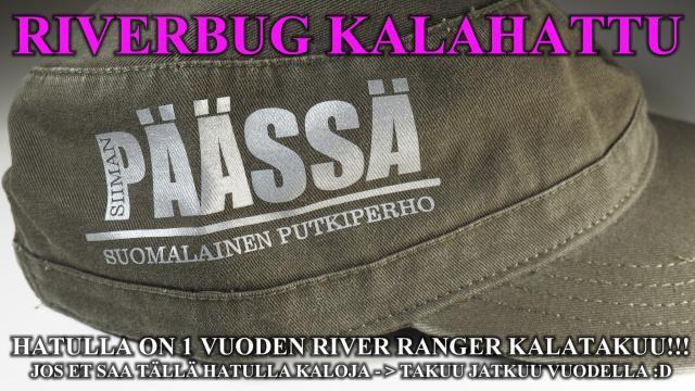 Kalahattu - Siiman Päässä suomalainen putkiperho. #perhokauppa #putkiperhot #riverbug #madeinfinland #tornionjoki #matkakoski #merikoski #oulujoki #oulu #cityfishing #päässä #lippalakki #lippis