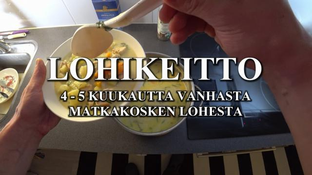 Lohikeitto - Matkakosken RiverBug lohesta by River Ranger