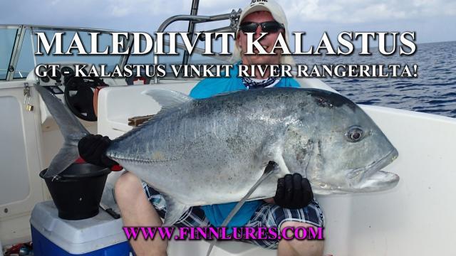 Malediivit Kalastus - Kalastusvinkit by River Ranger/ Finnlures