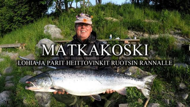 Matkakosken Spinfluga vinkki video by River Ranger