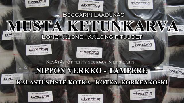 Ketunkarvat_nipponverkko_kalastuspistekotka_beggar_riverbug