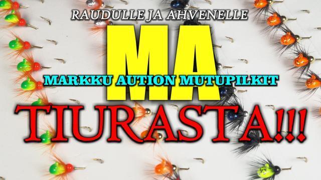 MA pilkit ja leechit Oulussa Tiurasta! #tiura #tiurauistin #oulu #kalastusväline #pilkintä