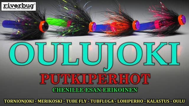 Oulujoki Putkiperhot - Chenille Esan Erikoinen. Oulu Perhokauppa. Oulujoki - Matkakoski Putkiperho Kauppa Oulu - Perhopesä. #putkiperhot #tornionjoki #oulujoki #boden #kymijoki #horoperho #putkiperho #sidontaohje #riverranger #riverbug #matkakoski #maasaari #perhopesä #karvanavetta #tubfluga #tubefly #merikoskikalastus #korkeakoski