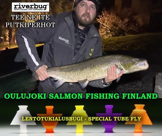 Merikoski Oulujoki lohi. #riverbug #putkiperhot #kymijoki #merikoski #oulujoki #korkeakoski #lohi #putkiperhot #perhonsidonta