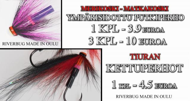 Tiura Uistin Oulu valmisperhot. #putkiperhot #tornionjoki #riverbug #ppktunkki #bugiperhot #oulu #perhonsidonta #tiura #tiurauistin #valmisperhot