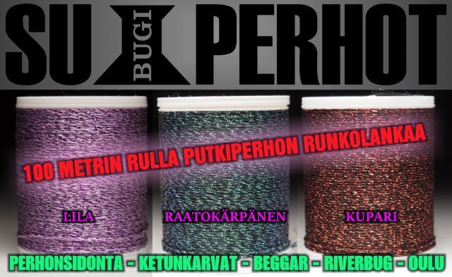 Runkolanka Putkiperhoihin Kaakkurin Perhopesästä! #putkiperhot #runkolanka #perhopesä #oulu #perhonsidonta #lankarulla #superhot #bugiperhot #perhopesä
