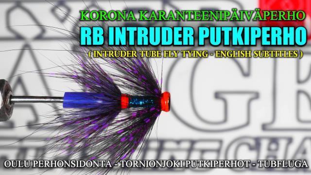 Intruder Putkiperhon sidonta by RiverBug putkiperhot. #putkiperhot #tubfluga #perhonsidonta #perhonsidontaoulu #ouluperhonsidonta #tubfluga #tubeflue #koronavirus #karanteeniperho #mustakettu #riverbug #beggar
