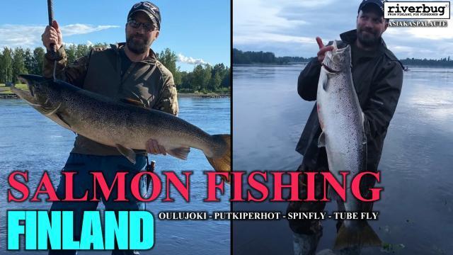 RiverBug putkiperhojen asiakaspalautteita Merikoskelta Oulusta! #merikoski #oulu #oulujoki #lohi #putkiperhot #cityfishing #riverbug #finland #kalastus #asiakaspalaute #salmon #tubefly