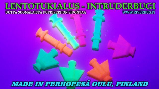 Lentotukialus Bugi uutuus 2021 - Intruder Bugit uudet värit 2021! #putkiperhot #perhokauppa #oulu #perhopesä #perhonsidonta #riverbug #tubeflue #tubfluga #UV #spinfluga #punttiperhot