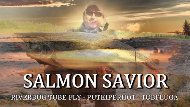 Tornionjoki Salmon fishing - RiverBug Tube Fly method - Matkakoski Putkiperhot