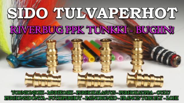 RiverBug PPK tunkki bugit - Tiura Uistin Oulu valmisperhot. #putkiperhot #tornionjoki #riverbug #ppktunkki #bugiperhot #oulu #perhonsidonta #tiura #tiurauistin #valmisperhot