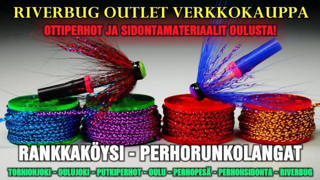 RankkaKöysi perhorunkolangat Oulu Perhopesä. #putkiperhot #perhonsidontapenkki #perhopenkki #spinfluga #tornionjoki #oulujoki #horoperho #putkiperho #sidontaohje #riverranger #riverbug #perhopesä #karvanavetta #tubfluga #tubefly #merikoskikalastus #korkeakoski