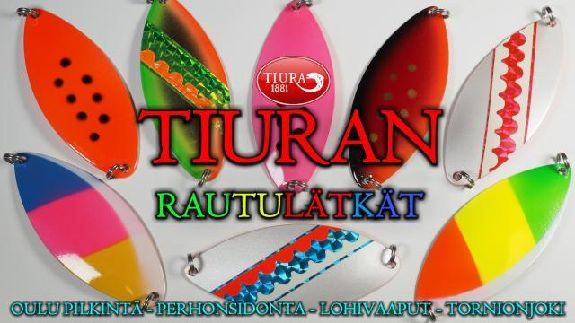 Tiura Uistin rautupilkit. #oulu #tornionjoki #lohivaaput #oulukalastus #rautupilkki #tiura #finnlures