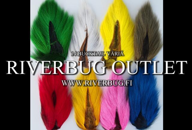 Bucktail - Peuranhäntä - RiverBug