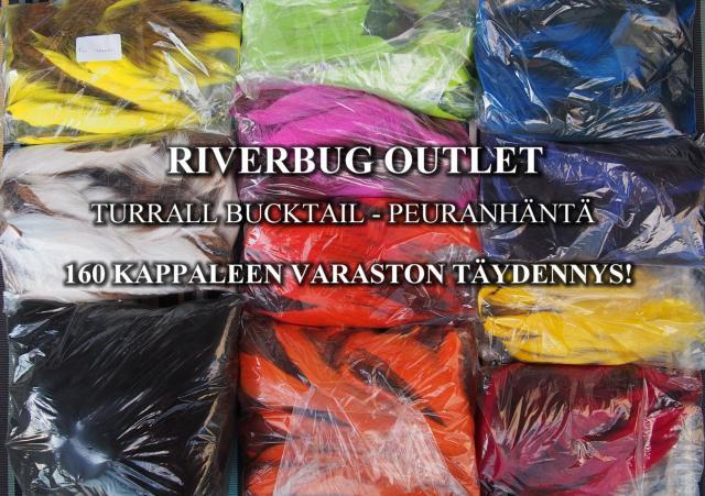 Peuranhäntä - Bucktail by Turrall / RiverBug Outlet