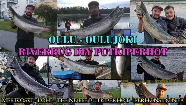 Merikoski Putkiperhot - Oulu lohenkalastus. #merikoski #putkiperhot #perhonsidonta #riverbug #teeneite