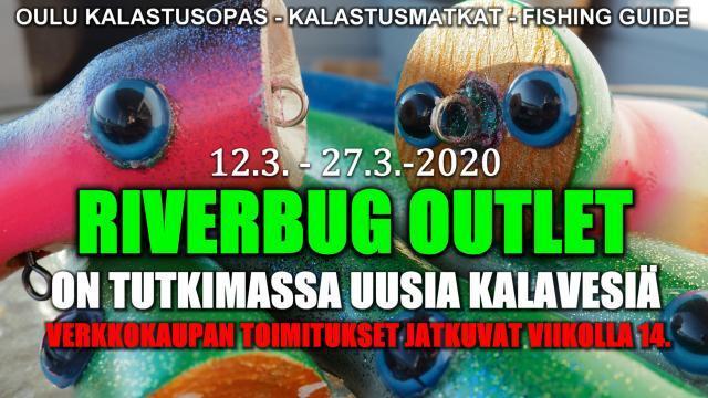 Kalastusopas Oulu - RiverBug Outlet. #ouluperhonsidonta #kalastusopas #fishingguide #riverbug #verkkokauppa