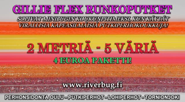 Putkiperhon Runkoputki by Gillie! #putkiperhot #runkoputket #gillie #tornionjoki #oulu #ouluperhonsidonta #riverbug #merikoski #minibugi
