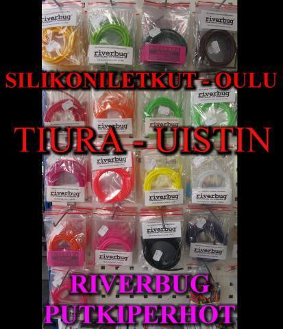 Silikoniletkut Tiura - Uistimesta by RiverBug Putkiperhot
