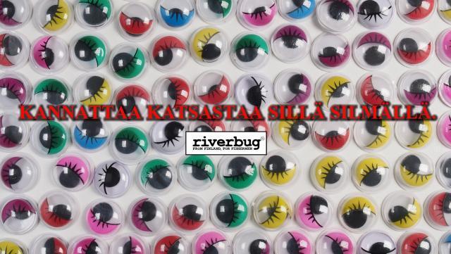 3D silmät RiverBug