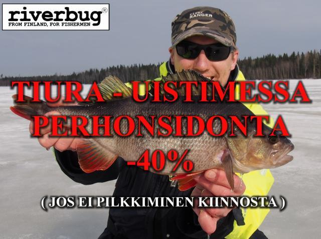 Tiura - Uistin syysalennus / RiverBug Putkiperhot
