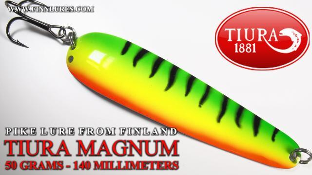 Tiura Magnum haukilusikka väri fire tiger