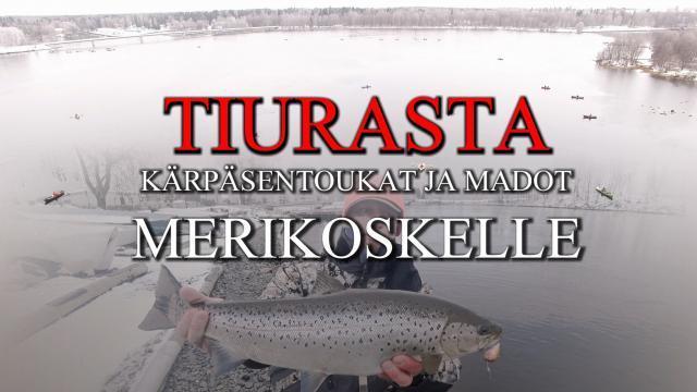 Pilkkitoukat Oulussa Tiura - Uistimesta!