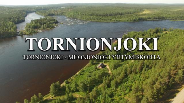 Tornionjoki - Muonionjoki yhtymäkohta ilmasta. #tornionjoki #muonionjoki #lohi #lohenkalastus #lohensoutu #perhokalastus