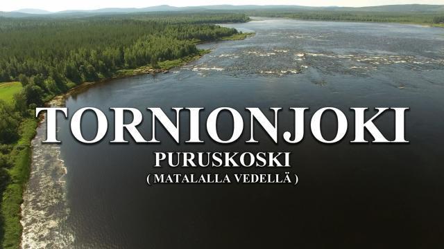 Tornionjoki - Puruskoski. #tornionjoki #puruskoski #lohenkalastus #perhonsidonta #kalavinkit #lohi #pello #torneälv #laxfiske #riverbug #riverranger #mustakettu